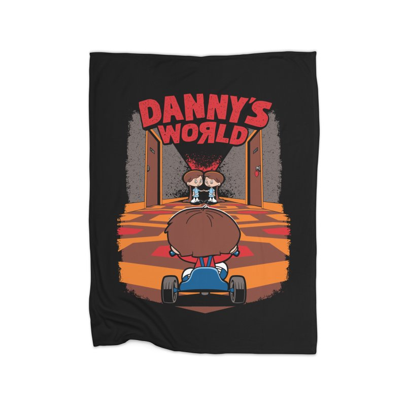 Danny's World Home Blanket by Tom Burns
