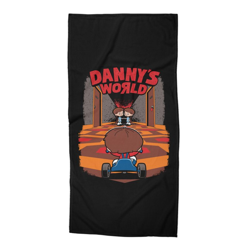 Danny's World Accessories Beach Towel by Tom Burns