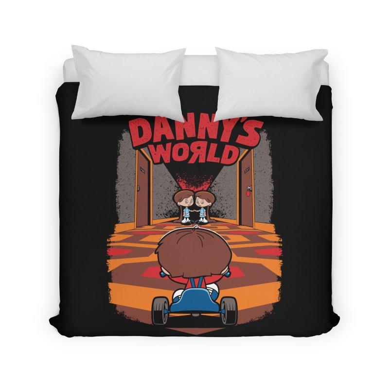 Danny's World Home Duvet by Tom Burns