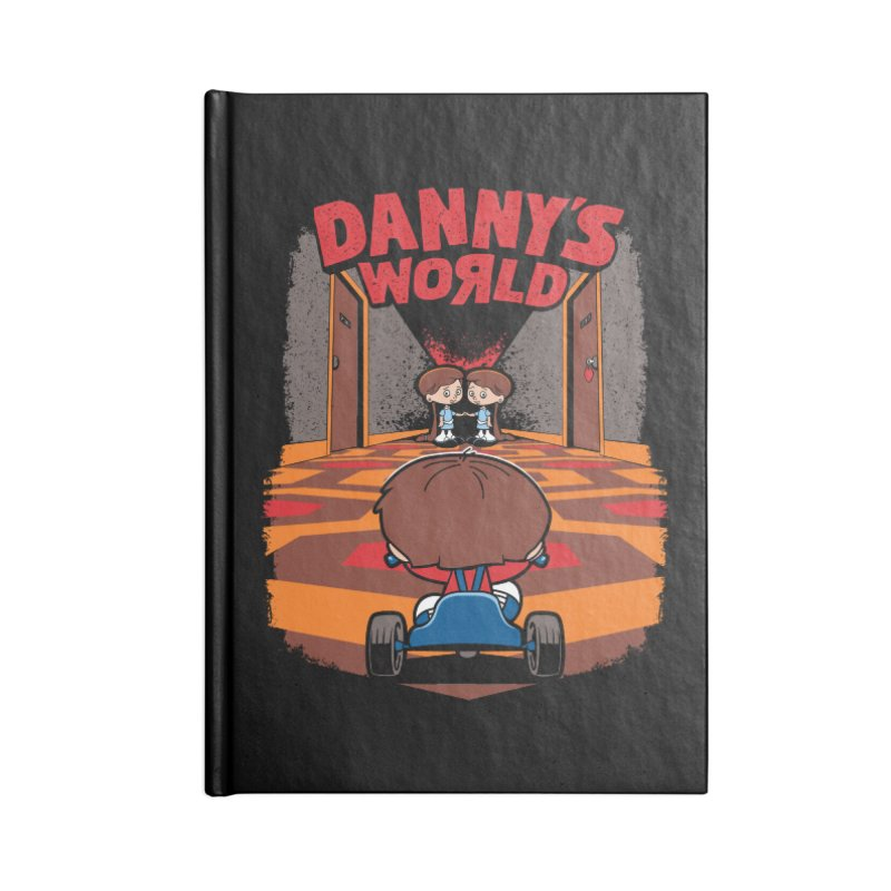 Danny's World Accessories Notebook by Tom Burns