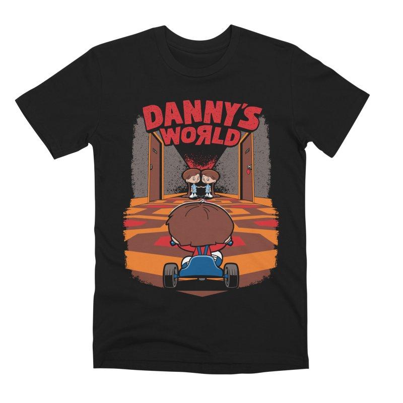 Danny's World Men's Premium T-Shirt by Tom Burns