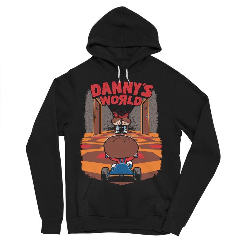 Danny's World Women's Sponge Fleece Pullover Hoody by Tom Burns