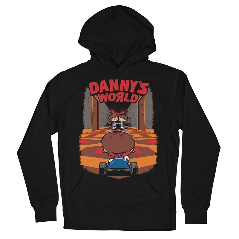 Danny's World Women's French Terry Pullover Hoody by Tom Burns