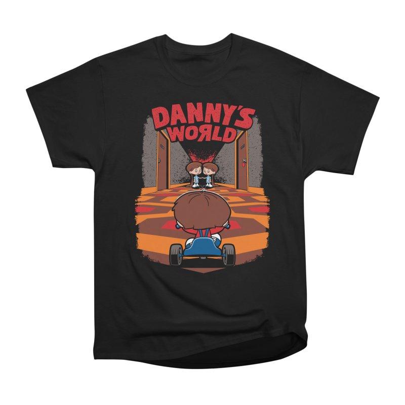 Danny's World Men's Heavyweight T-Shirt by Tom Burns