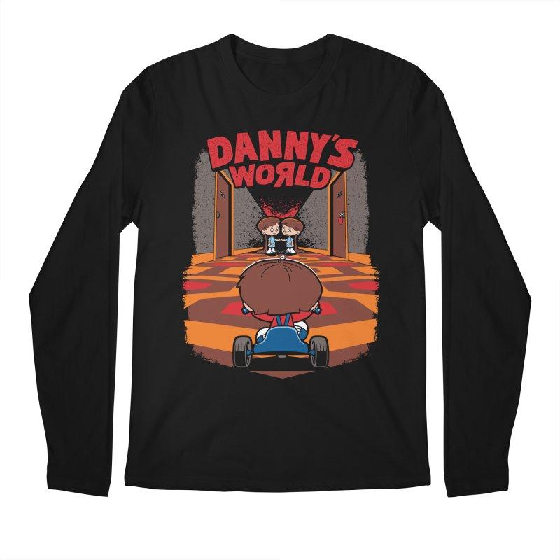 Danny's World Men's Regular Longsleeve T-Shirt by Tom Burns