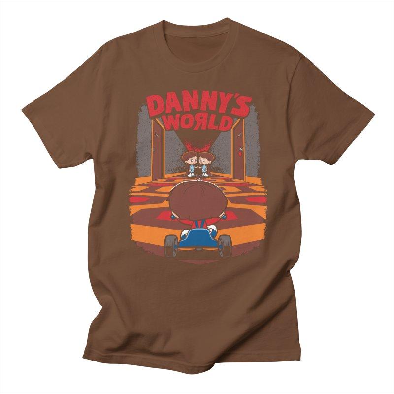 Danny's World Men's Regular T-Shirt by Tom Burns