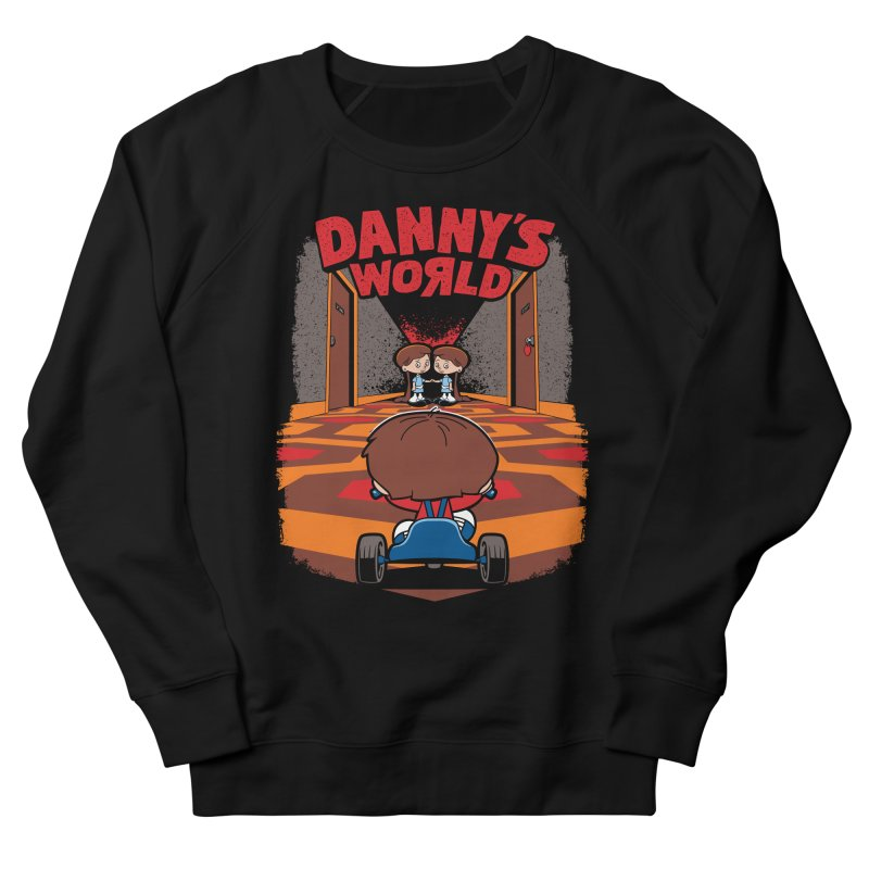 Danny's World Women's French Terry Sweatshirt by Tom Burns