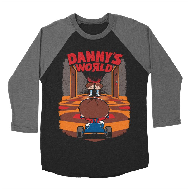 Danny's World Men's Baseball Triblend Longsleeve T-Shirt by Tom Burns