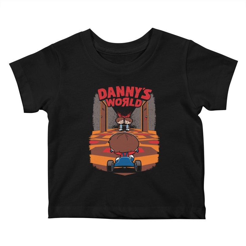 Danny's World Kids Baby T-Shirt by Tom Burns