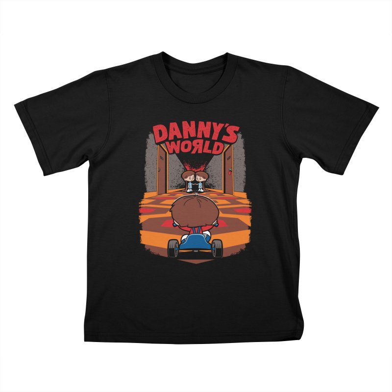 Danny's World Kids T-Shirt by Tom Burns