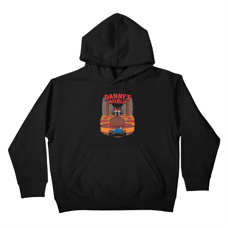 Danny's World Kids Pullover Hoody by Tom Burns