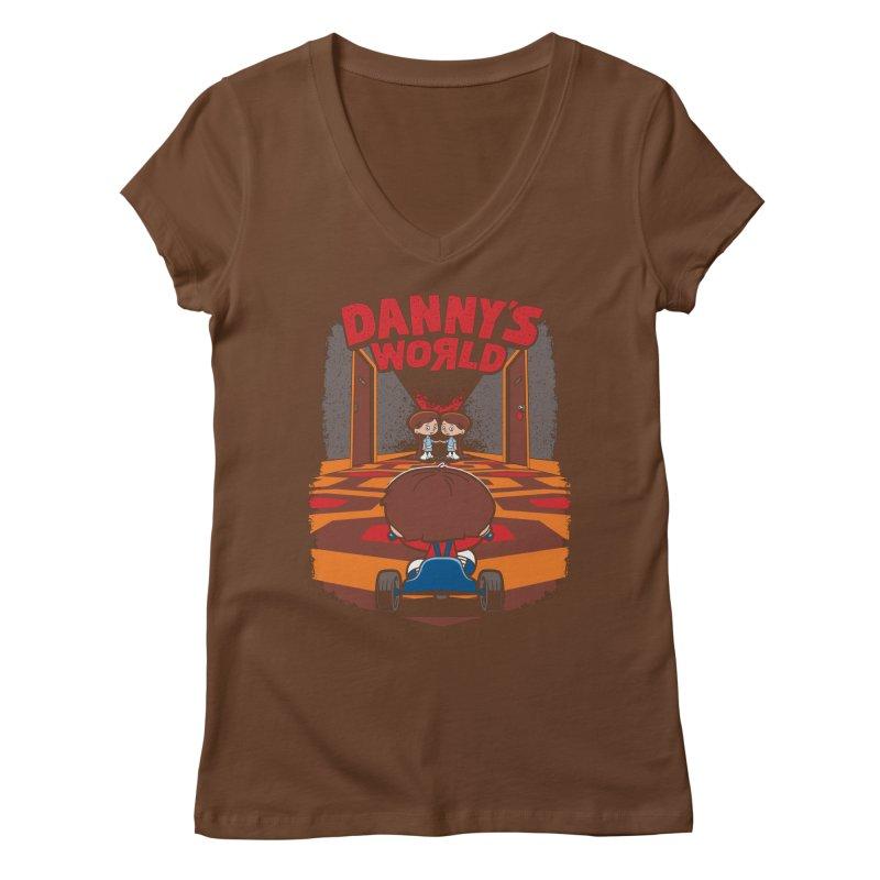 Danny's World Women's Regular V-Neck by Tom Burns