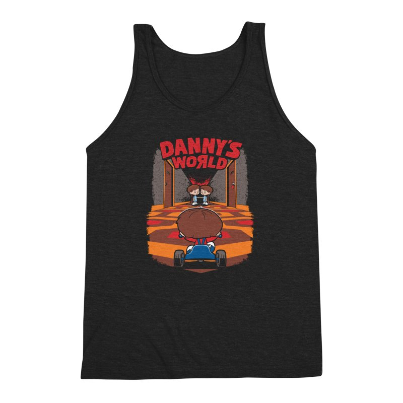 Danny's World Men's Triblend Tank by Tom Burns