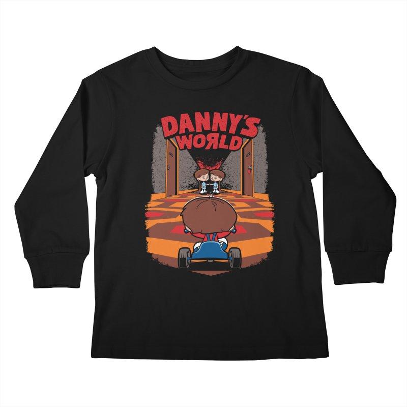 Danny's World Kids Longsleeve T-Shirt by Tom Burns