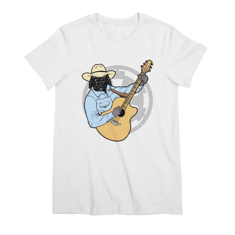 Darth Brooks Women's Premium T-Shirt by Tom Burns