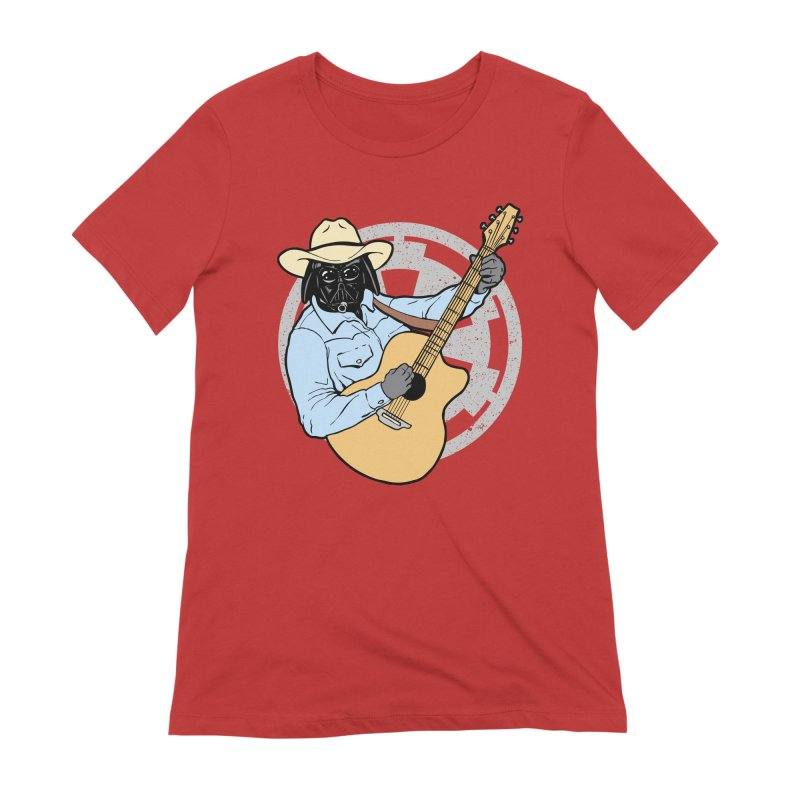 Darth Brooks Women's Extra Soft T-Shirt by Tom Burns