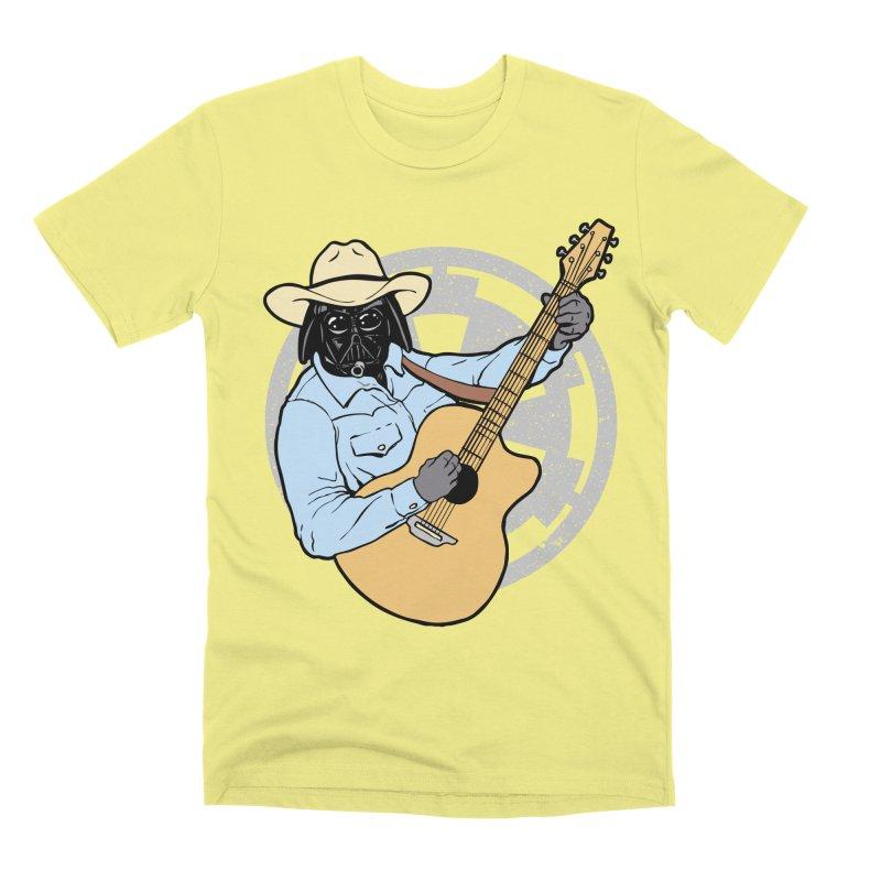 Darth Brooks Men's Premium T-Shirt by Tom Burns