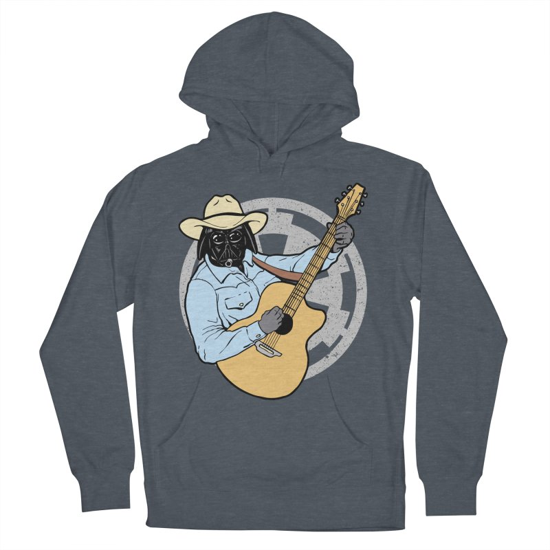 Darth Brooks Men's French Terry Pullover Hoody by Tom Burns