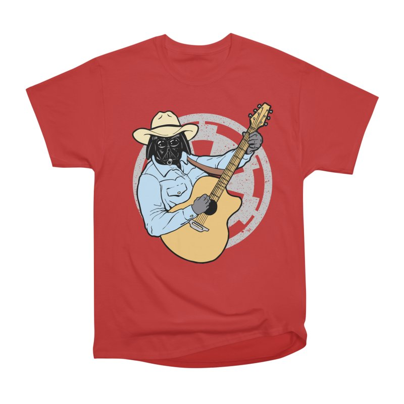 Darth Brooks Men's Heavyweight T-Shirt by Tom Burns
