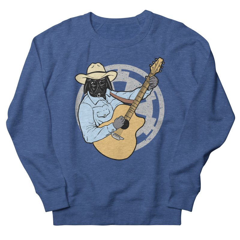 Darth Brooks Women's French Terry Sweatshirt by Tom Burns
