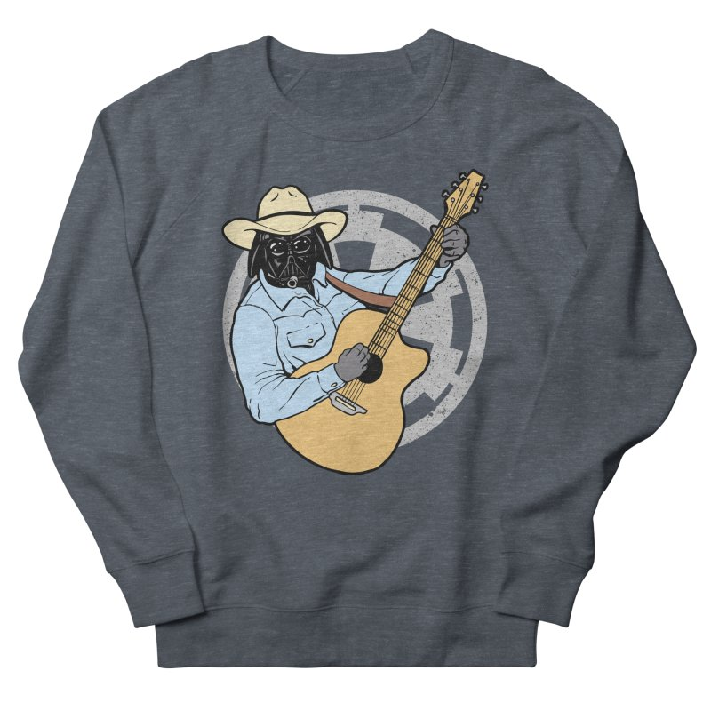 Darth Brooks Men's French Terry Sweatshirt by Tom Burns