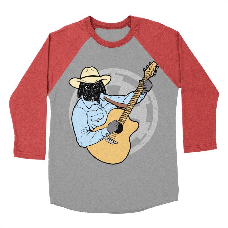 Darth Brooks Men's Baseball Triblend Longsleeve T-Shirt by Tom Burns