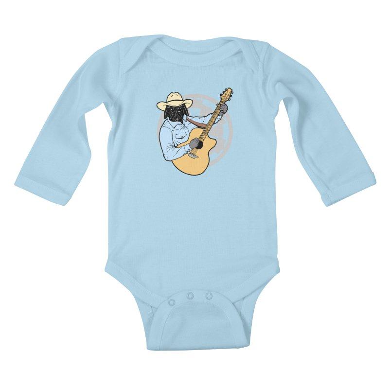 Darth Brooks Kids Baby Longsleeve Bodysuit by Tom Burns