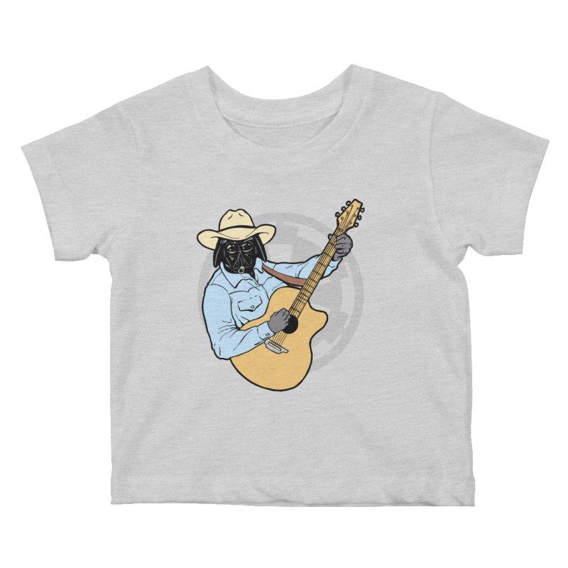 Darth Brooks Kids Baby T-Shirt by Tom Burns