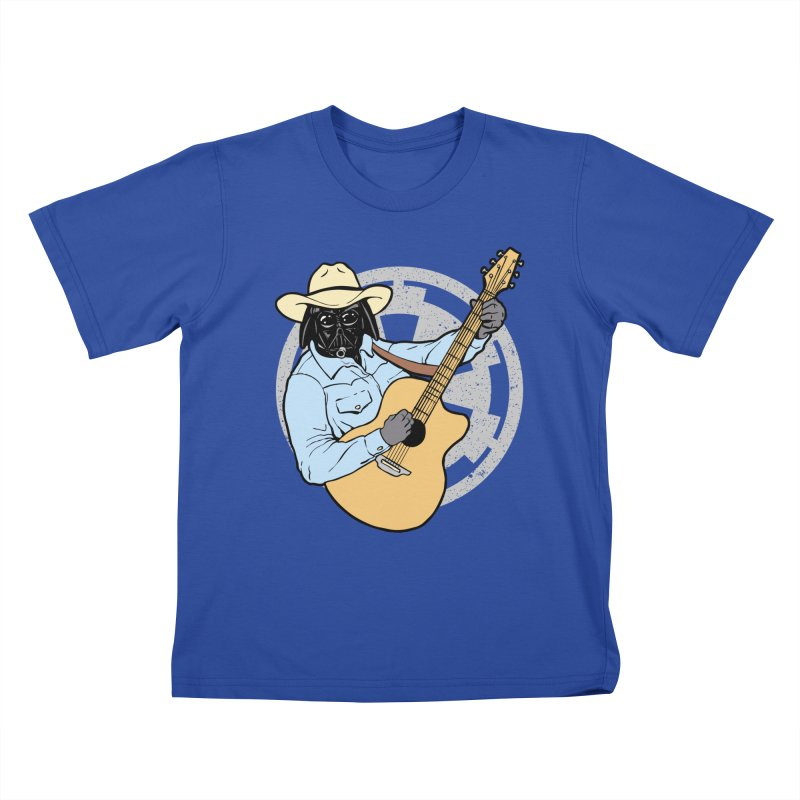 Darth Brooks Kids T-Shirt by Tom Burns