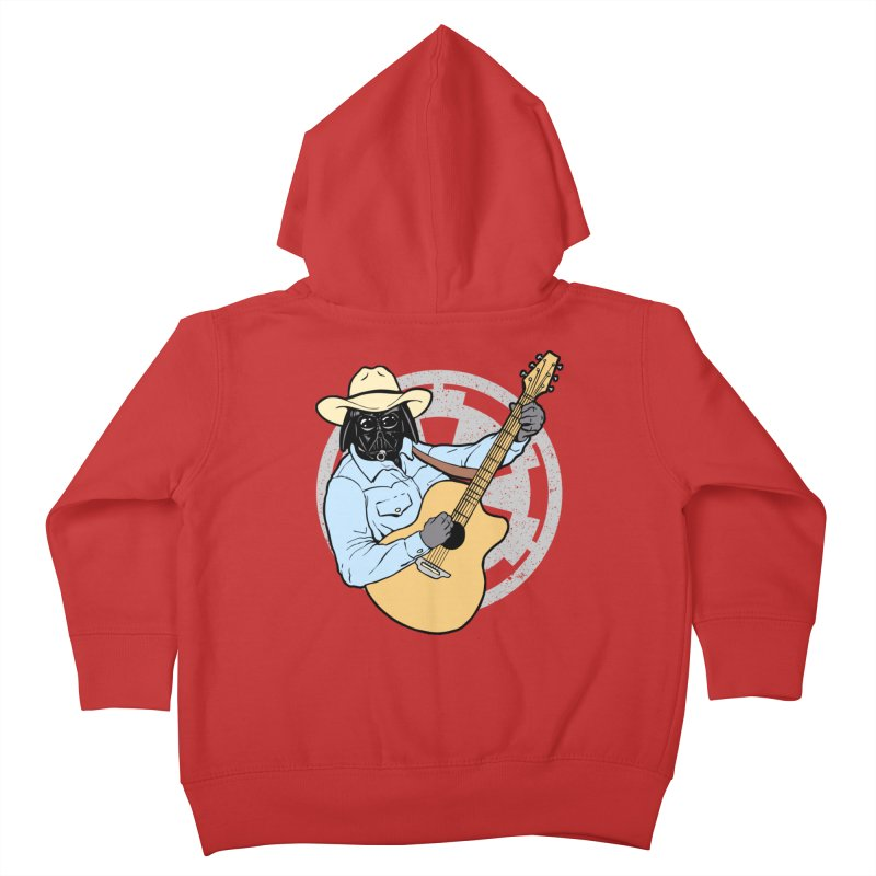 Darth Brooks Kids Toddler Zip-Up Hoody by Tom Burns