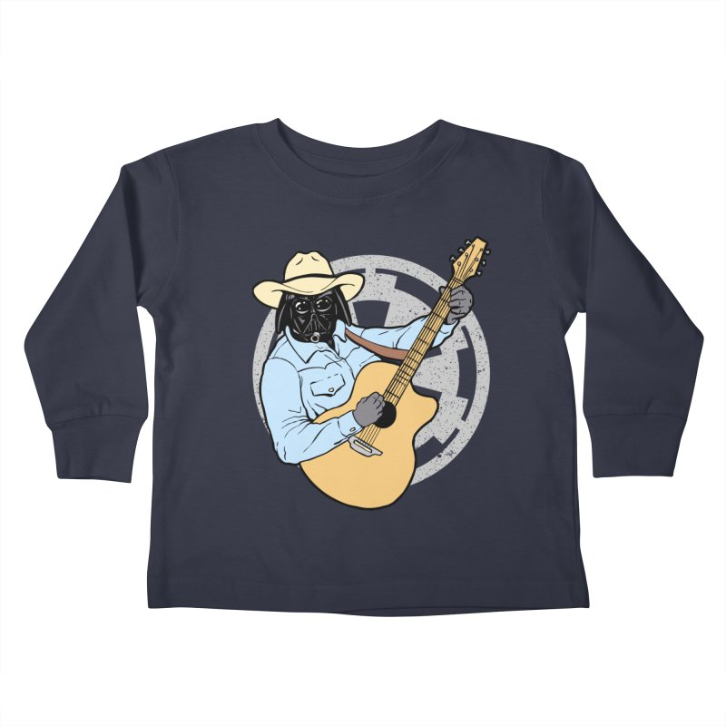 Darth Brooks Kids Toddler Longsleeve T-Shirt by Tom Burns