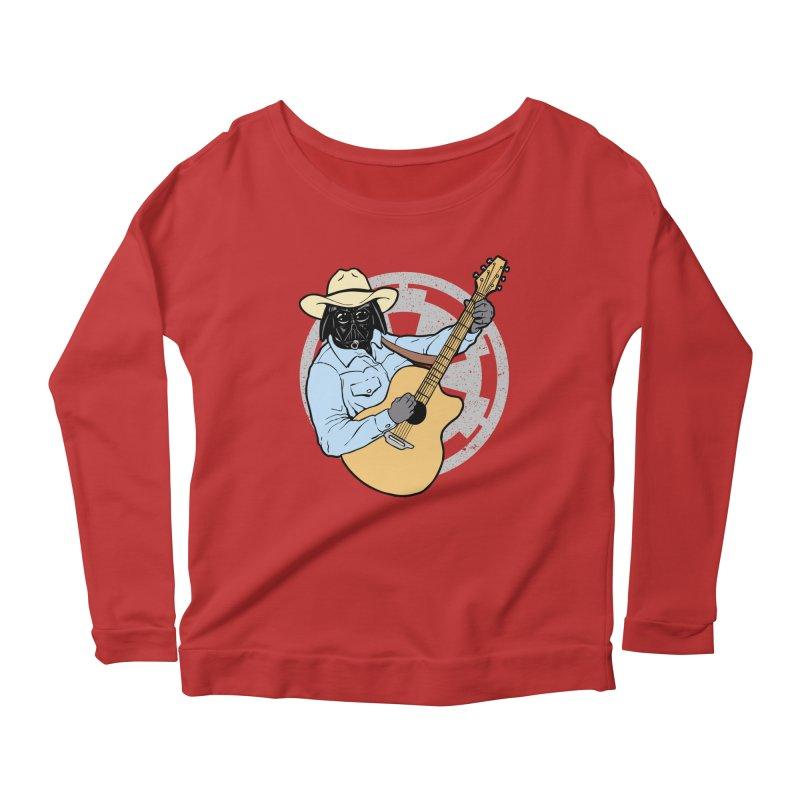 Darth Brooks Women's Scoop Neck Longsleeve T-Shirt by Tom Burns