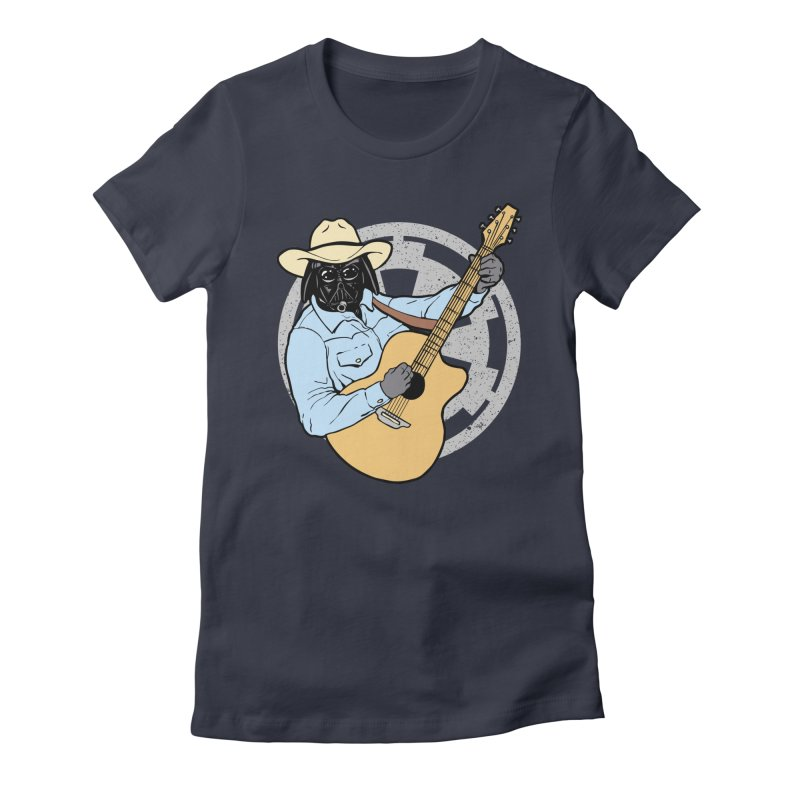 Darth Brooks Women's Fitted T-Shirt by Tom Burns
