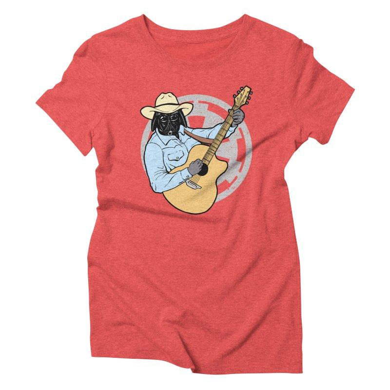 Darth Brooks Women's Triblend T-Shirt by Tom Burns