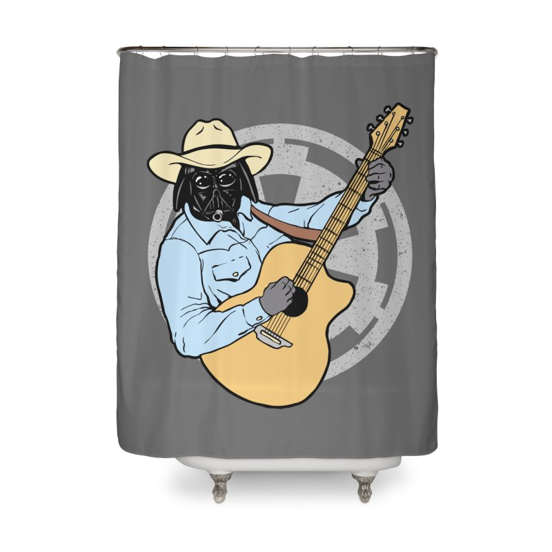 Darth Brooks Home Shower Curtain by Tom Burns