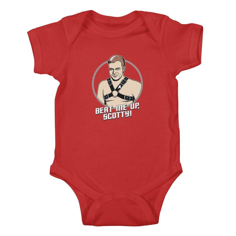 Beat Me Up, Scotty Kids Baby Bodysuit by Tom Burns