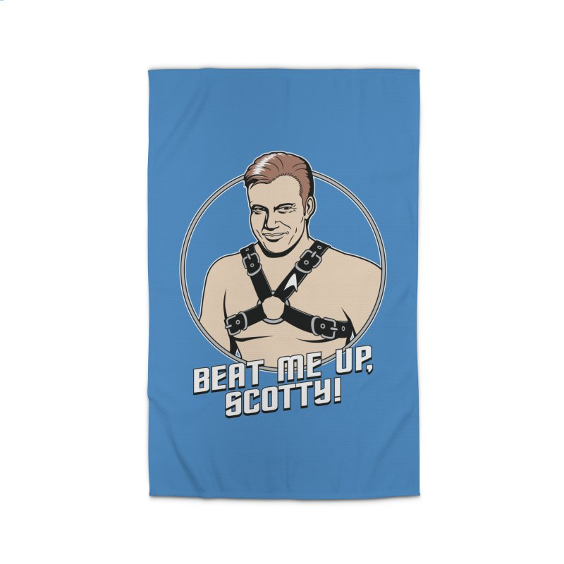 Beat Me Up, Scotty Home Rug by Tom Burns