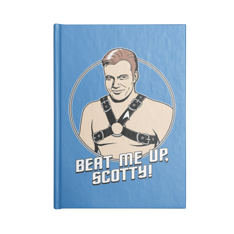 Beat Me Up, Scotty Accessories Notebook by Tom Burns