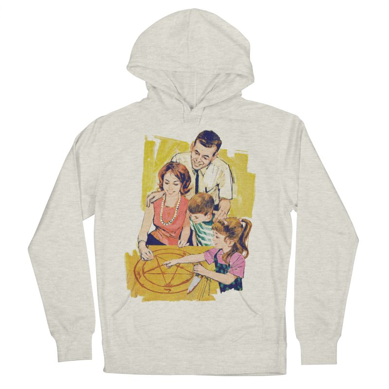 Family Summoning Women's French Terry Pullover Hoody by Tom Burns