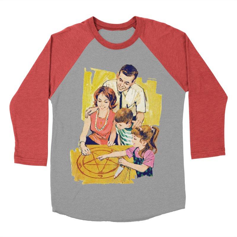 Family Summoning Women's Baseball Triblend Longsleeve T-Shirt by Tom Burns