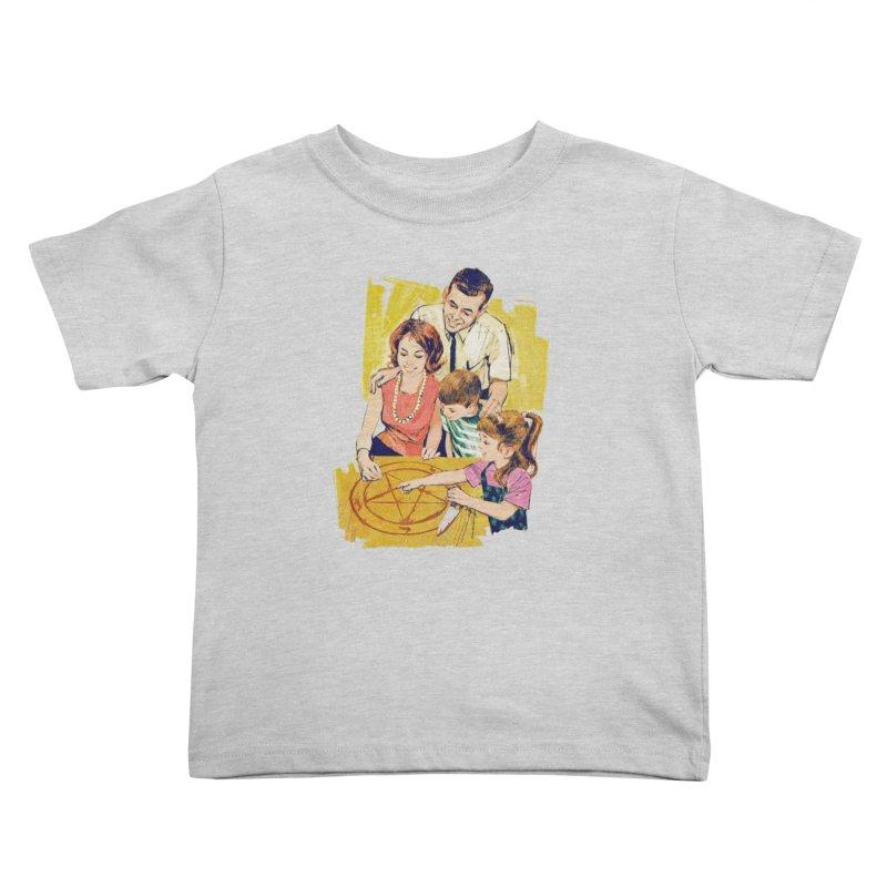 Family Summoning Kids Toddler T-Shirt by Tom Burns