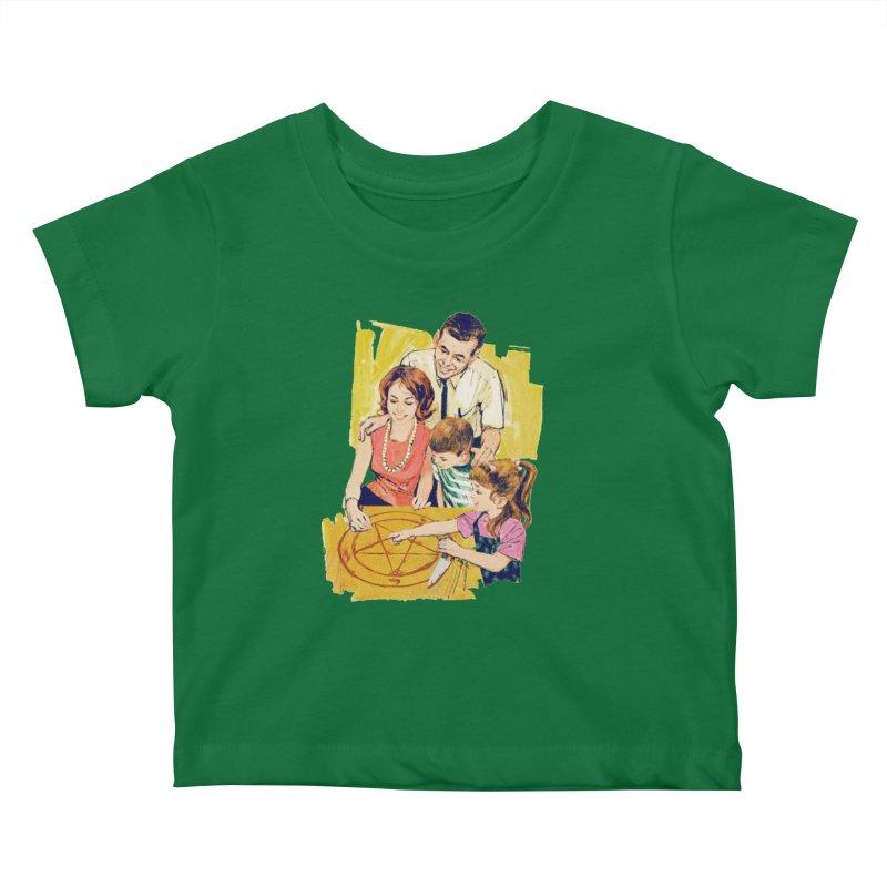 Family Summoning Kids Baby T-Shirt by Tom Burns