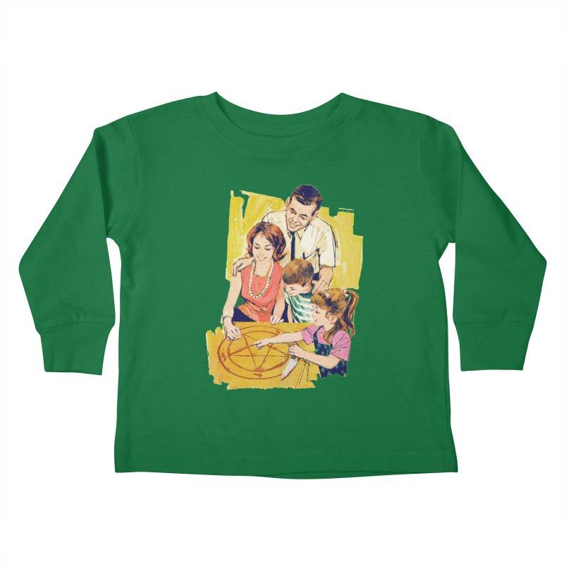 Family Summoning Kids Toddler Longsleeve T-Shirt by Tom Burns