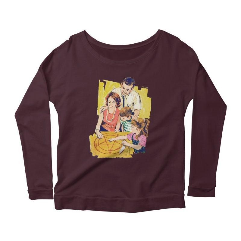 Family Summoning Women's Scoop Neck Longsleeve T-Shirt by Tom Burns