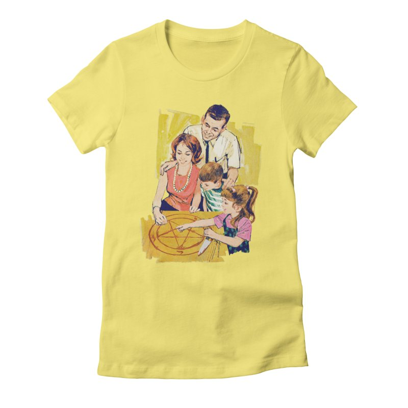 Family Summoning Women's Fitted T-Shirt by Tom Burns