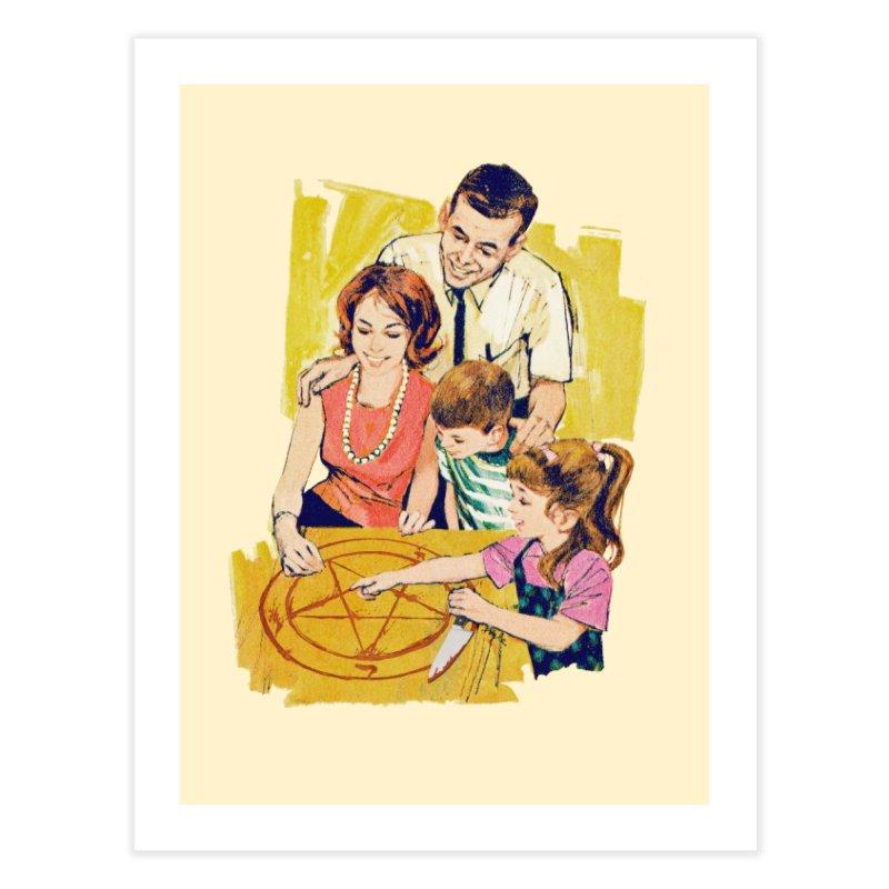 Family Summoning Home Fine Art Print by Tom Burns