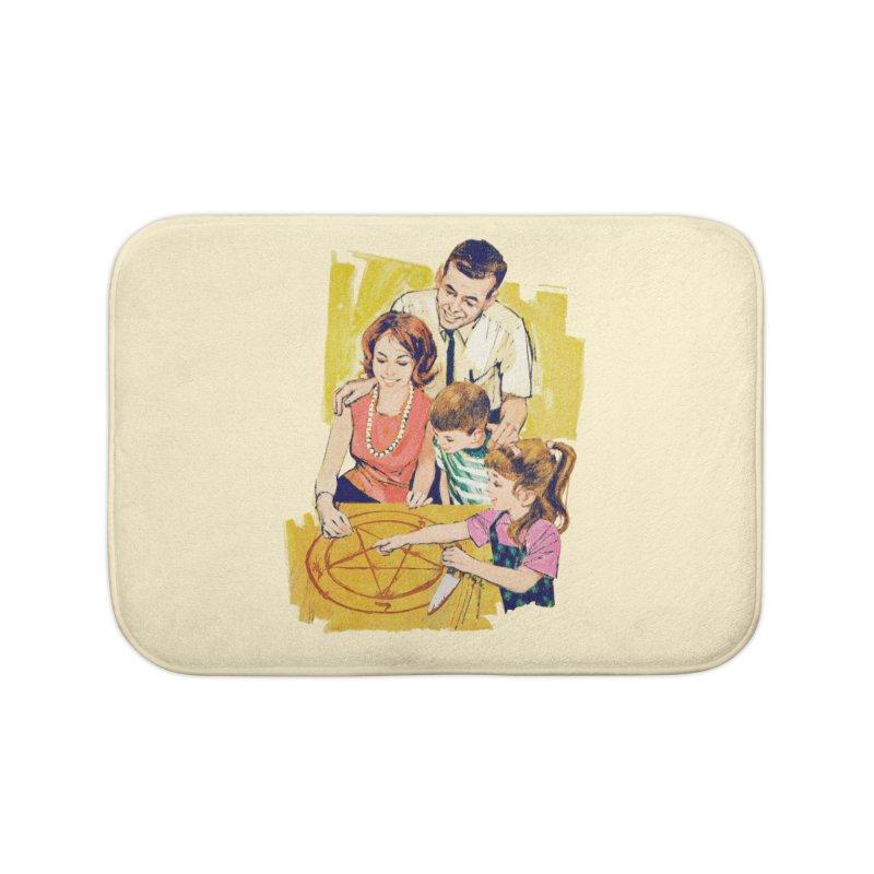 Family Summoning Home Bath Mat by Tom Burns