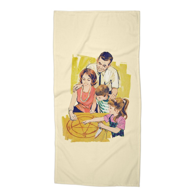 Family Summoning Accessories Beach Towel by Tom Burns