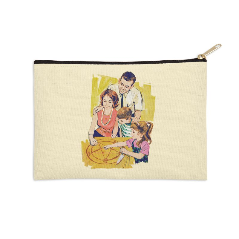 Family Summoning Accessories Zip Pouch by Tom Burns