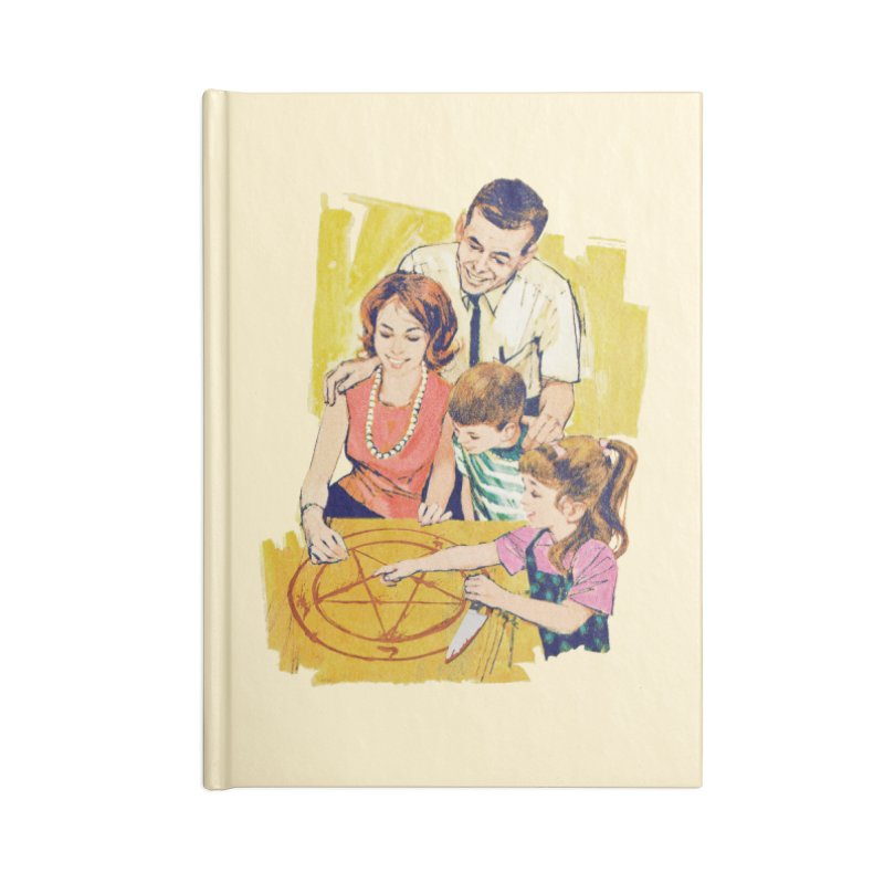 Family Summoning Accessories Blank Journal Notebook by Tom Burns